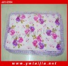 NEW style printing and soft lace pillow cover case