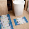 Natural Anti-slip Decorative carpet,Bathroom Floor rugs