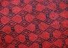 Needle punched double color jacquard carpet