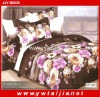 New Arrival Colorful Microfiber Best Bed Cover Set