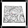 New!! Black Curve Wave Throw Pillow Case Cushion Cover