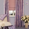 New Bunchy Yarn Contained Jacquard Curtain