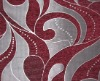 New ! Chenille Jacquard fabric for home textile