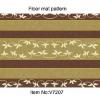 New Pattern Anti-slip PVC Printed Carpet Mat