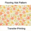 New Pattern Transfer Printed PVC Floor carpet,bath floor mat