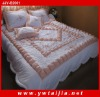New Series 100%polyester Embroidered Bedding Set