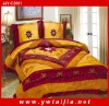New Series Soft Embroidered Imitation Silk Bed Set
