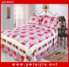 New Style 100%Cotton Soft And Printed Quilt Set