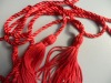 New fashion Red Curtain Tieback tassel for home textile