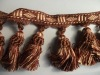 New fashion cord tassel fringe for curtain & home textile