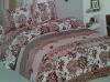 New flower printed bed sheet sets