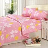 Newest-designed and cheap bed sheet / Cotton bed sheet/ Cheap and good blanket