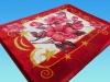 No.FM6013 red pillow pet blanket