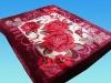No.FM6014 burgundy blankets polyester