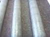Non woven carpet with anti slip film