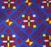 Nonwoven velour printed carpet
