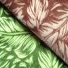 Nylon double flock sofa fabric