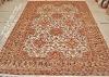 Orient silk carpet rug