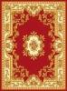 P.P carved flower carpet