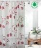 PEVA colored shower curtain stocks