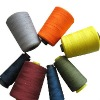 POLYESTER SEWING THREAD DYED AND RW
