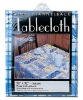 PVC Tablecloth with Flannel Back