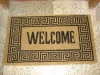PVC Tufted Coir Doormat Natural Printed