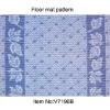 PVC floor carpet area rug