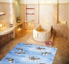 PVC foam bathroom mat, Anti-slip bath mats