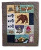 Patch Magic Cabin Throw Lodge Decor blanket