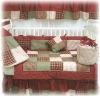 Patch Work Cotton Baby Crib Bedding