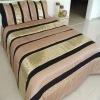 Patchwork metal sequins bedding set