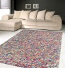 Pebbles Shaggy hand woven 100% wool pile carpet or rug