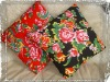 Peony Flower Printing Cushion Cover