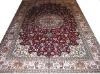 Persian carpet ,handknotted silk carpet and silk rug