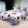 Pigment printed bedding set/bed sheet