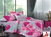 Pigment printed cotton full fitted bedspreads