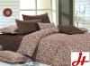 Pigment printed super king bedding comforter sets