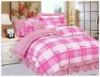 Pink hot selling oriental bedding set