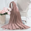 Plain Coral Fleece Blanket