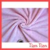 Plain Pink Polyester Coral Fleece Blanket