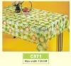 Plastic Printed Tablecloth