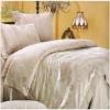 Pleated Jacuquard Bedding Set