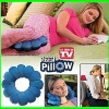 Plush Flower Ring Pillow / total pillow as seen on TV Hot Sale in 2012 !!!