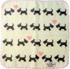 "Pokapoka Cute towel hanky  ""Terrier"""