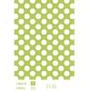 Polka dots printing polyamide/elastan swimwear/bikini fabric