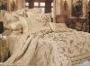 Poly-Cotton Jacquard Bedding
