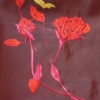 Poly Embroidery fabric