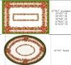 Polyester Christmas Jacquard Printed Table Cloth