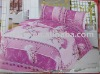 Polyester Peach Skin 4pcs bedding set